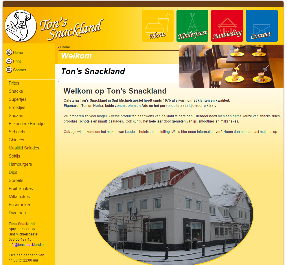 Ton's Snackland